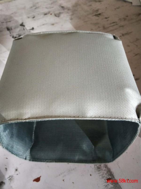硅纤钛金不燃软管