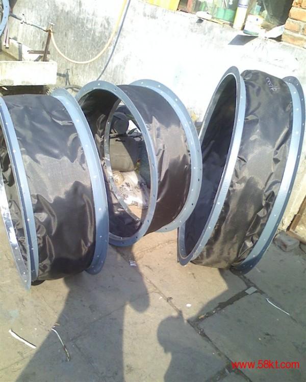 A1级防火硅玻钛金软风管