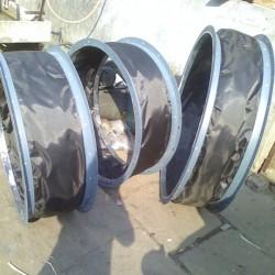 A级防火硅玻合金软管