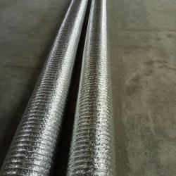 铝箔保温复合软连接, 主要适用于高压、中压、低压中央空调和通风系统及对噪音要求较高