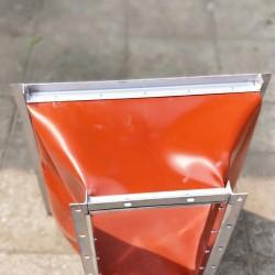 硅钛合金A级防火软管