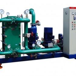 苏州高温蒸汽型板式换热机组, 结构紧凑、占地少、效率高、噪声低