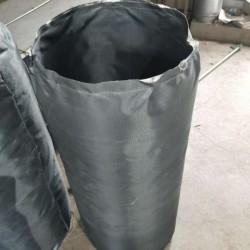 硅玻钛金A级不燃软连接