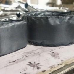 硅玻钛金不燃软管 通风防火软管