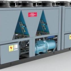 超低温降膜式风冷冷水热水机组