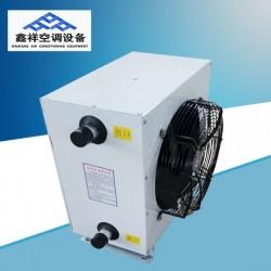 GS型钢制热水暖风机, 体积小,重量轻,耗电量低