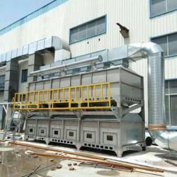 废气催化燃烧设备, 喷涂废气处理