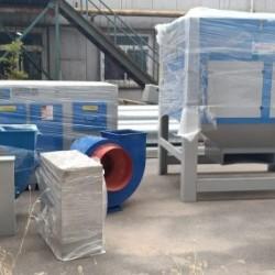 VOCs废气处理设备环保设备活性炭吸附箱, 通风除尘 净化排烟 环评达标
